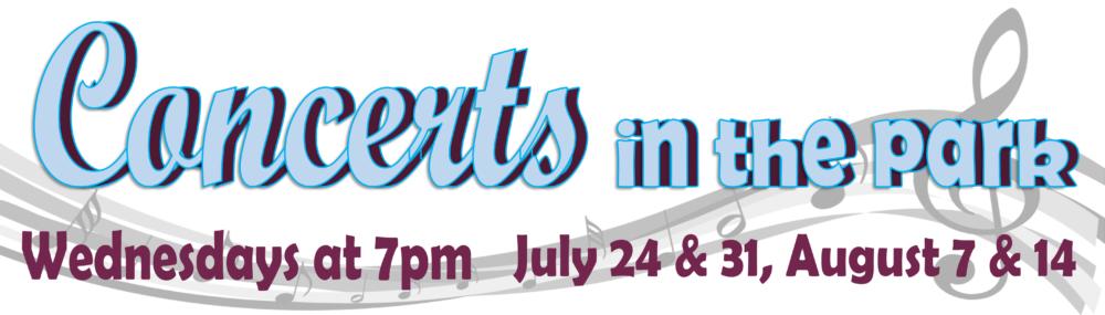 concerts website banner