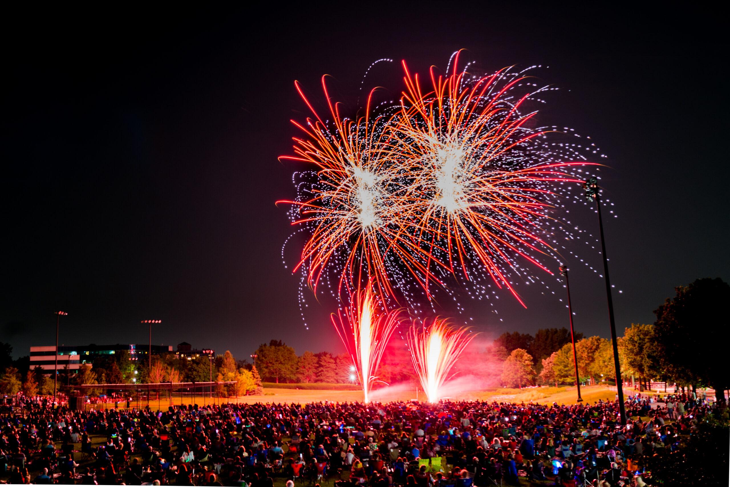 westmont fireworks